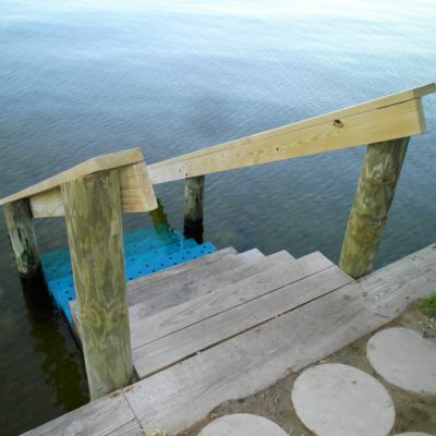 Bayside swimming steps