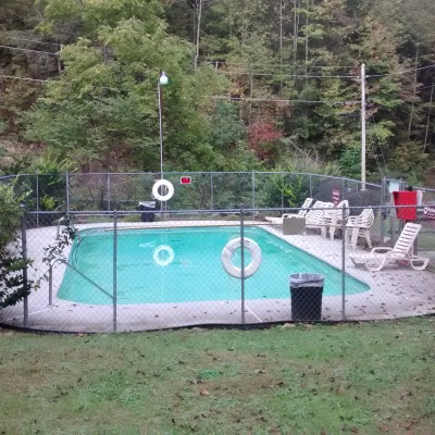 Neighborhood pool (closed at time of photo)